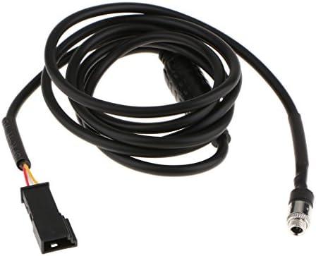 BMW E39 E46 E53 X 5のためのケーブルインターフェイスアダプターの車3.5mm女性の可聴周波補助