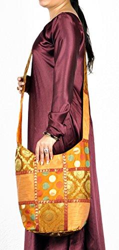 Indische Damen Umhängetasche Designer Jhola Boha Tasche