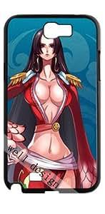 One Piece Boa Hancock Boa Hankokku Japanese Anime HD image case for Samsung Galaxy Note 2 N7100 black + Gift