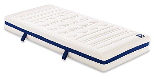 Badenia 03889640143 Bettcomfort Kaltschaummatratze Irisette Vitaflex Flextube Härtegrad 4, 140 x 200 cm, weiß