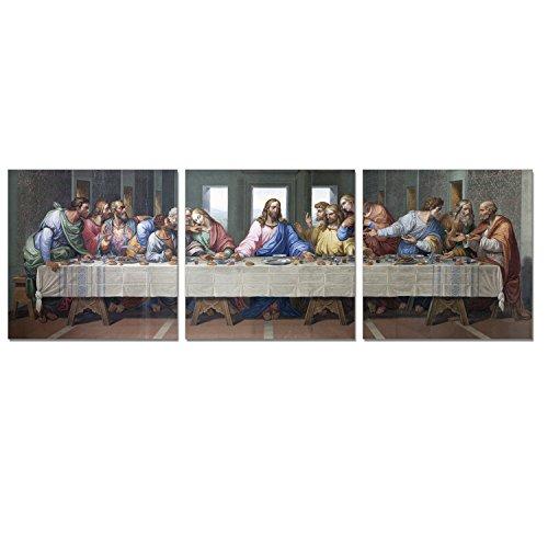 FURINNO Senic Last Dinner 3 Panel Canvas on Wood Frame, 60