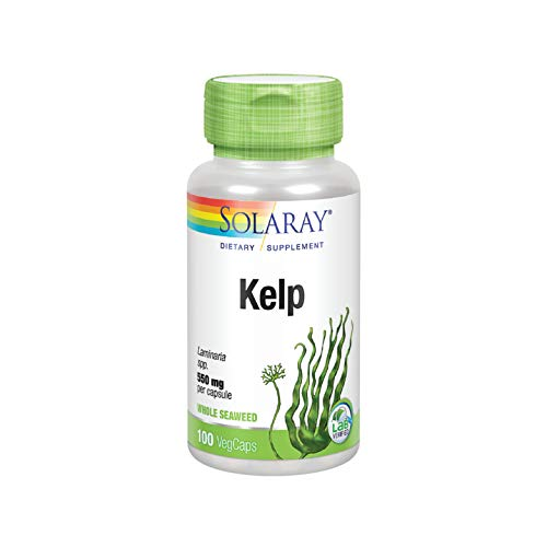 (Solaray Kelp with Folic Acid 550 mg 100 Capsules)