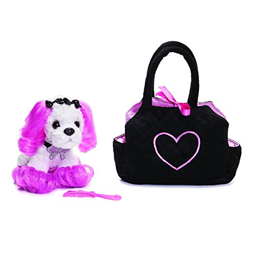 Nat and Jules Plush and Carrier Set, Princess of Beverly Hills (Beverly Fabrics)