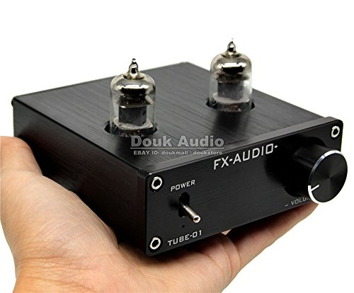 Sale!! Douk Audio Mini 6J1 Valve & Vacuum Tube Pre-Amplifier Stereo HiFi Buffer Preamp
