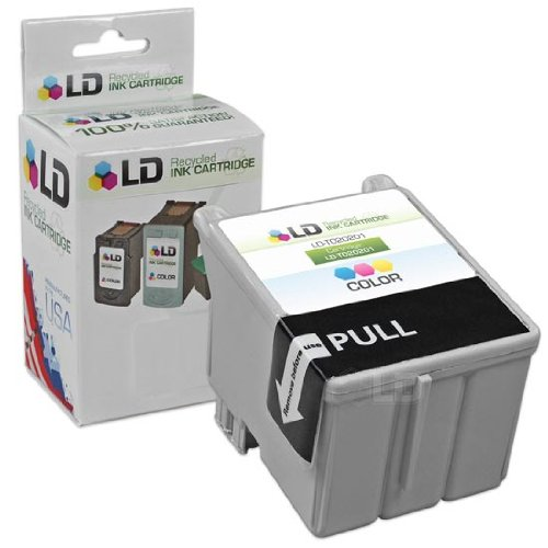 LD Remanufactured Ink Cartridge Replacement for Epson T020 T020201 (Color)]()