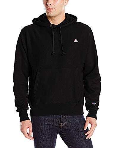 Champion Men's Reverse Weave Pullover Hoodie Print, Black, XX-Large from Champion LIFE