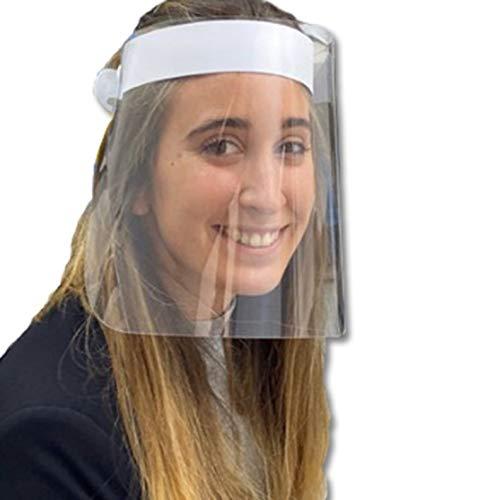 🥇 Pantalla Protección Facial HOMOLOGADA. Permite Bascular hacia Atrás. Fabricado en España. Face Shield.