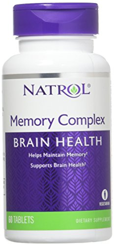 Tablets Memory 60 Complex (Natrol Memory Complex Tablets, 60 Count)