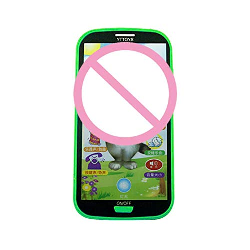 Meflying Children Simulator Music Toy Cell Phone Touch Screen Educational Learning Toy Electronic Systems from Meflying