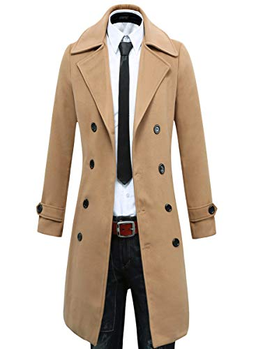 Beninos Men's Trench Coat