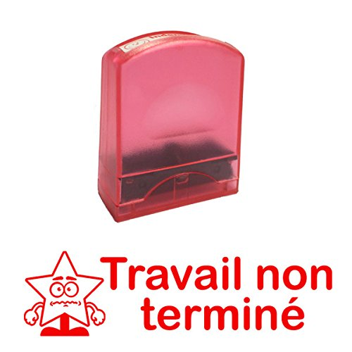 Travail non terminé Self-inking, Reinkable Low Cost French Teacher Stamp