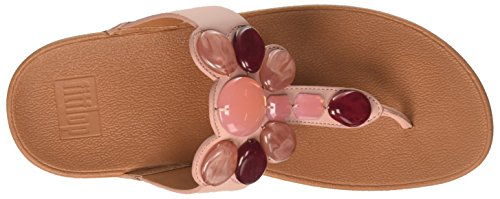 535 Femme Dusky Noir Tongs Toe Thong FitFlop Rose Pink Honeybee qwI40z