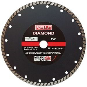 Top Turbo 230 X 22 23 Mm Bohrung Diamant Disc Schneiden Klinge