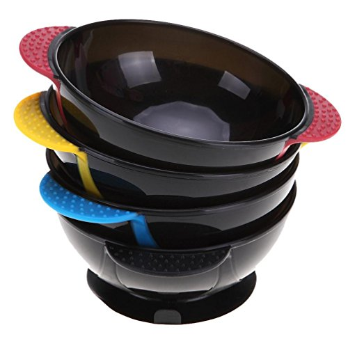 Ikevan 1 Pc Plastic Dyeing Bowl Assorted Colors