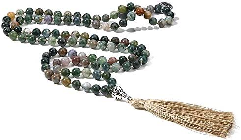 BALIBALI Necklace Semi Precious Meditation Knotted product image