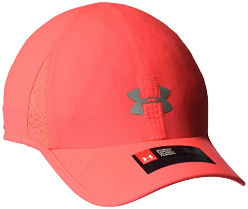 Under Armour Women's Shadow 2.0 Cap, Marathon Red/Silver, One Size Shadow Baseball Cap Hat