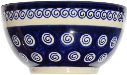 2.8 Diameter 5.5 Height Polish Pottery Ice Cream//Cereal Bowl From Zaklady Ceramiczne Boleslawiec #971-174a Classic Pattern