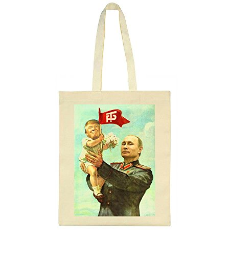 Tote Style Poster Friendship Soviet Putin Trump Bag And nYTvxq