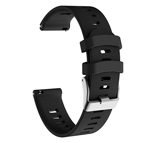 VICCKI Sports Soft Silicone Replacement Watch Band Strap