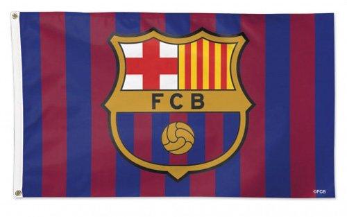 large logo 3 x 5 Polyester Flag FC Barcelona