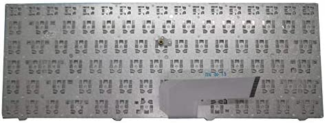 Keyboard for ENZ R34 DK300H PRIDE-K2119 343000018 LT-14101RHWB//N English US White Frame