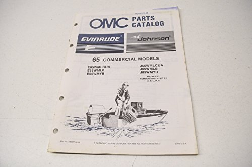 alog 65 Commercial Models QTY 1 (Omc Parts Catalog)