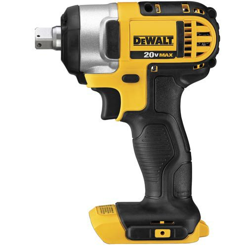 Dewalt DCF880BR 20V MAX Cordless Lithium-Ion 1 2 in. Impact Wrench with Detent Pin Anvil Tool Only Renewed