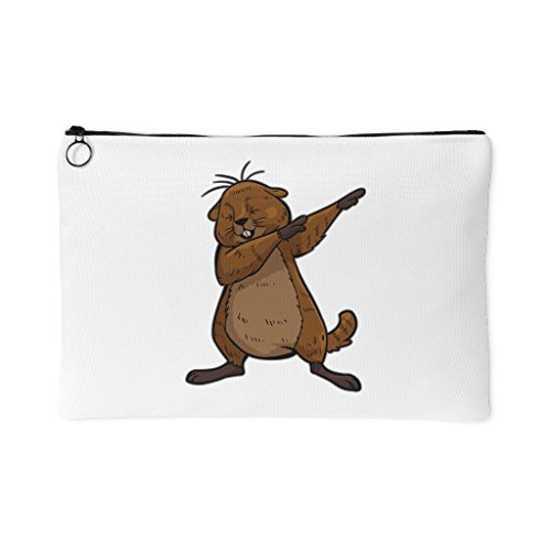 Groundhog Day Funny Dabbing Dance Groundhog Coin Purse For Women Girls Boys Men(Large-12