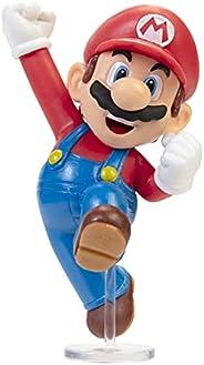 """Boneco Articulado Jumping Mario, 2.5"""", Super Mario, Ca"""