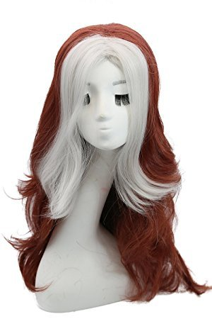 The Heat Movie Halloween Costume (Xcoser Rogue Wig Movie Cosplay Costume Long Curly Wig Hair Accessories Halloween Party)