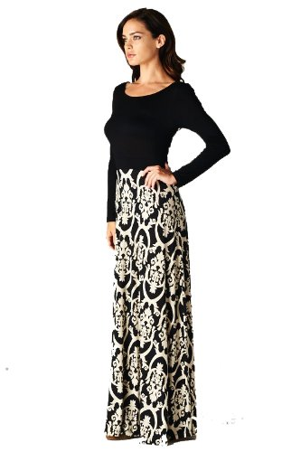 On Trend Women's Seasons Change Maxi Dress at Amazon Women's ...
