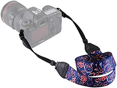 PULUZ Retro Ethnic Style Multi-Color Neck and Shoulder Camera Strap for SLR and DSLR Cameras