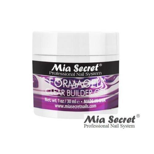 Mia Secret FORMAGEL Clear Builder Gel 1 oz Professional Nail System Builder Gel Nail