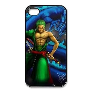 iphone4 4s Black phone case One Piece Roronoa Zoro ONP5326047