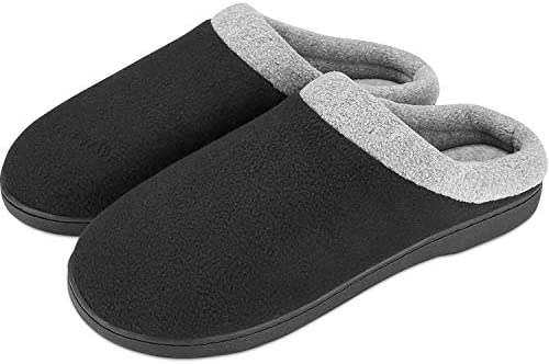 Puricon Men's Slippers, Soft Cozy