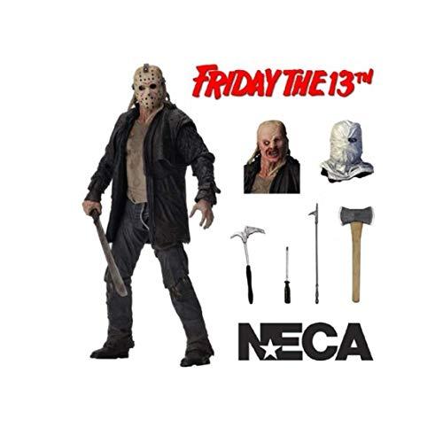 NECA Freddy vs Jason: Ultimate Jason 7 Inch Action Figure -