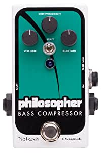 Pigtronix PBC Philosopher Bass Compressor