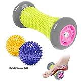 Foot Massage Roller Spiky Ball for Relief Plantar Fasciitis...