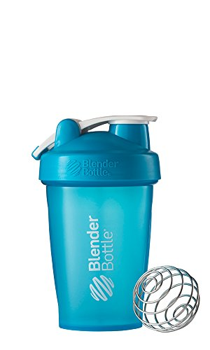 BlenderBottle Classic Loop Top Shaker Bottle, Aqua/Aqua, 20-Ounce
