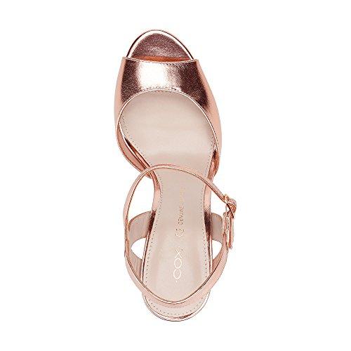 Cox Damen Sandalette Bronze