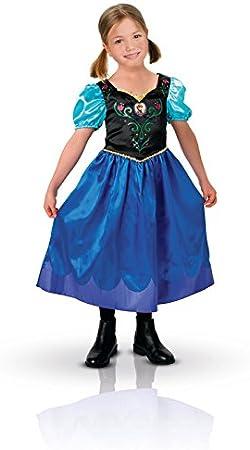 Rubie`s - Disfraz infantil de Anna clásico (889543-L): Amazon.es ...