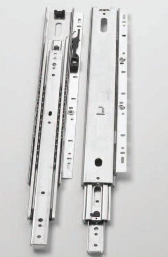 18'' KV 6505 Over Travel Drawer Slides [Zinc] by Knape & Vogt