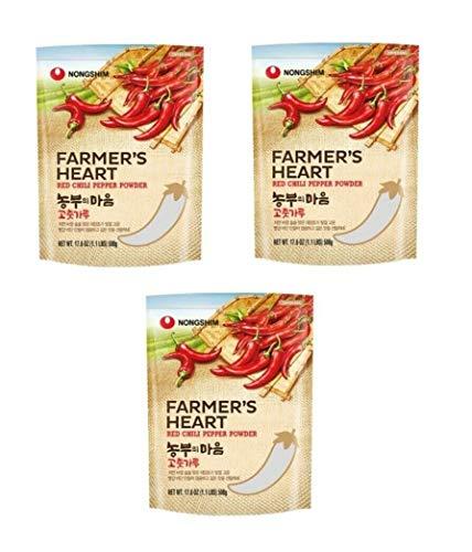 Pamai Pai® Dreierpack: 3 x 500g Chilipulver Paprikapulver Kimchi Pulver Kim Chi