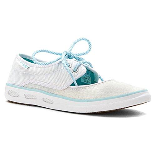 Columbia Women's Vulc N Vent¿ Peep Toe PFG White/Miami Shoe