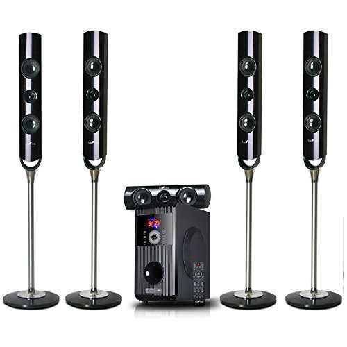 Home Theater System 5.1 Channel Surround Sound Bluetooth Spe