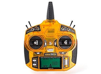 HobbyKing OrangeRx Tx6i Full Range 2 4GHz DSM2/DSMX Compatible 6ch Radio  System (Mode 2)