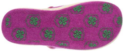 Adelheid Nachteule Filzpantoffel - Pantuflas de fieltro mujer rosa - Pink (pink 661)