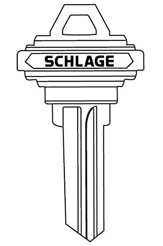 - Schlage 35-101-H Standard Bow Classic Conventional 6-Pin Key Blank, H Keyway, Varies Metal
