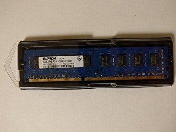 ELPIDA MEM DIMM 2GB PC3-10600 BPC MEMORY MODULE EBJ21UE8BDF0-DJ-F