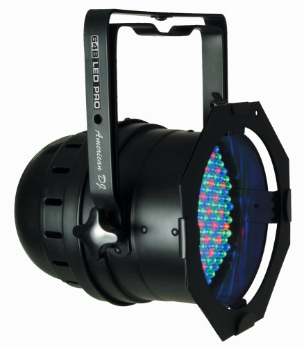 American DJ 64B LED Pro Black Can LED RGB Color Mixing With Onboard Dimmer by American DJ